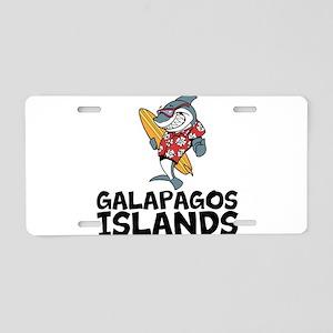 Galapagos Islands Aluminum License Plate