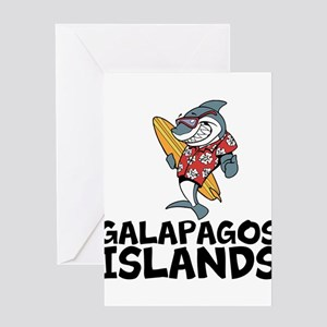 Galapagos Islands Greeting Cards