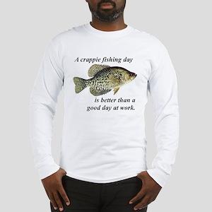 Crappie Fishing Day Long Sleeve T-Shirt