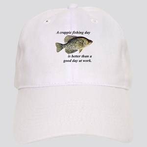 Crappie Fishing Day Baseball Cap