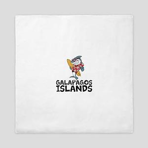 Galapagos Islands Queen Duvet