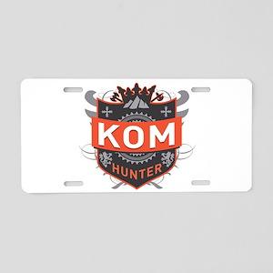 KOM Hunter Aluminum License Plate