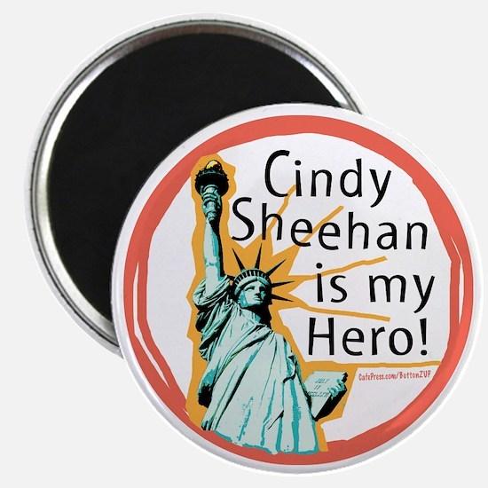 Cindy Sheehan is My Hero Magnet