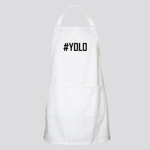 Hashtag YOLO Apron