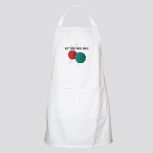 Knitters have Balls BBQ Apron