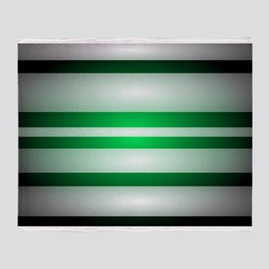 Green Light Throw Blanket