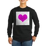 Scrapbooker - Scrap Adict Long Sleeve Dark T-Shirt