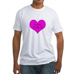 Scrapbooker - Scrap Adict Fitted T-Shirt