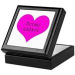 Scrapbooker - Scrap Adict Keepsake Box