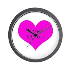 Scrapbooker - Scrap Adict Wall Clock