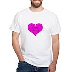 Scrapbooker - Scrap Adict White T-Shirt