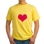 Scrapbooker - Scrap Adict Yellow T-Shirt