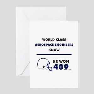 Aerospace Engineers Greeting Cards