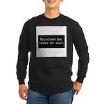 Scrapbooking Keeps Me Sane Long Sleeve Dark T-Shir