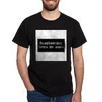 Scrapbooking Keeps Me Sane Dark T-Shirt