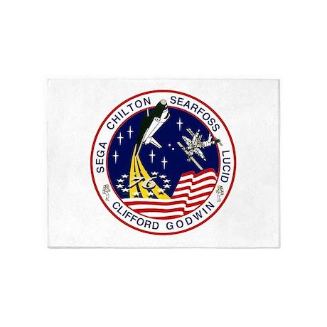 STS-76 Atlantis 5'x7'Area Rug