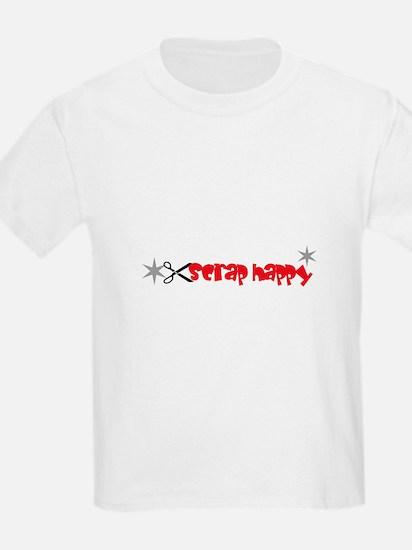 Scrap Happy - Scrapbooking Kids T-Shirt