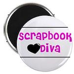 Scrapbook Diva Magnet