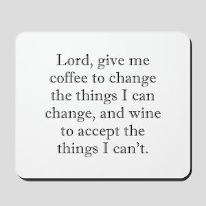 Lord Coffee Wine Mousepad