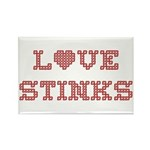 Love Stinks Rectangle Magnet