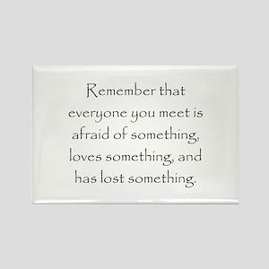 Love Afraid Lost Magnets