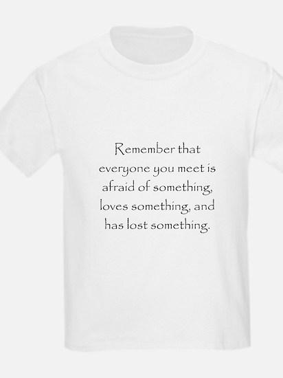 Love Afraid Lost T-Shirt