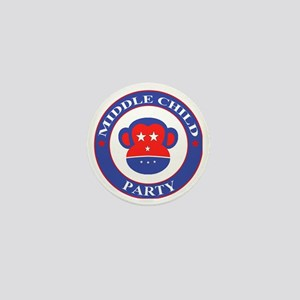 Middle Child Party Logo Mini Button