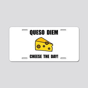 Queso Diem Aluminum License Plate