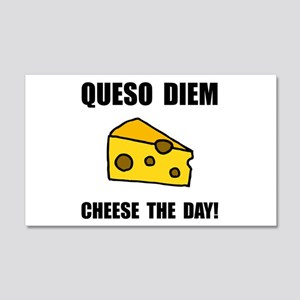 Queso Diem Wall Decal