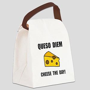 Queso Diem Canvas Lunch Bag
