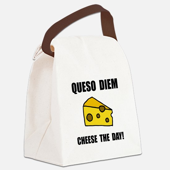 Queso Diem Canvas Lunch Bag