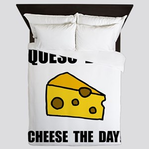 Queso Diem Queen Duvet