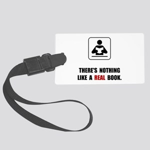 Real Book Luggage Tag