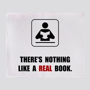Real Book Throw Blanket