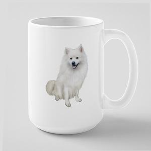 American Eskmio Dog Large Mug