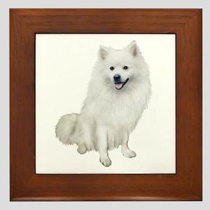 American Eskmio Dog Framed Tile