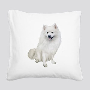 American Eskmio Dog Square Canvas Pillow