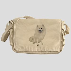 American Eskmio Dog Messenger Bag
