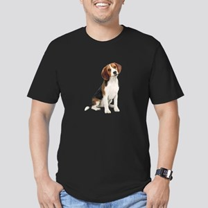 Beagle #1 Men's Fitted T-Shirt (dark)