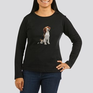 Beagle #1 Women's Long Sleeve Dark T-Shirt