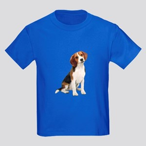 Beagle #1 Kids Dark T-Shirt