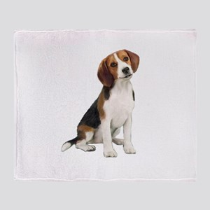 Beagle #1 Throw Blanket