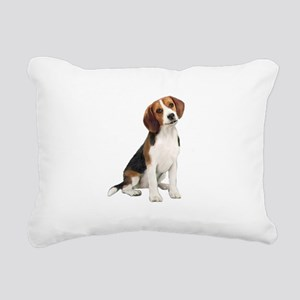 Beagle #1 Rectangular Canvas Pillow