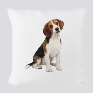 Beagle #1 Woven Throw Pillow