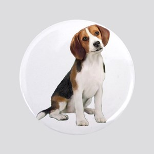 "Beagle #1 3.5"" Button"
