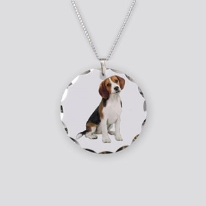 Beagle #1 Necklace Circle Charm