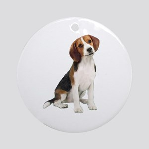 Beagle #1 Ornament (Round)