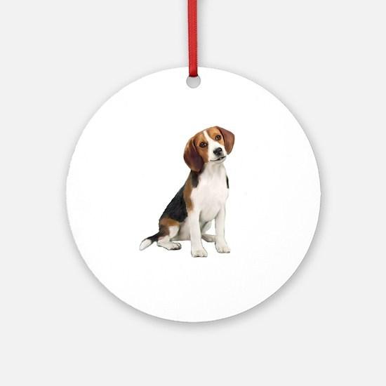 Beagle #1 Ornament (Round)