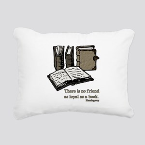 Books-3-Hemingway Rectangular Canvas Pillow