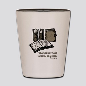 Books-3-Hemingway Shot Glass